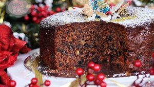 Xmas Fruit Cake14